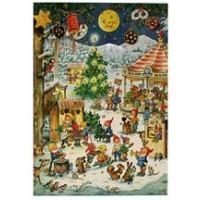 Christmas Fair Vintage Style Advent Calendar