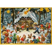 Bearing Gifts Vintage Style Advent Calendar