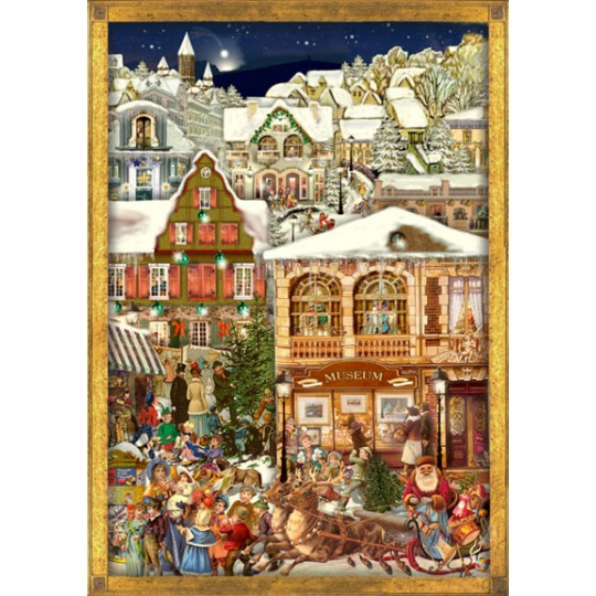Christmas Village Victorian Style Advent Calendar
