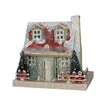 Snowy Putz Village Cottage - Green