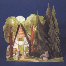 Little Red Riding Hood Paper House Project Kit ~ Germany