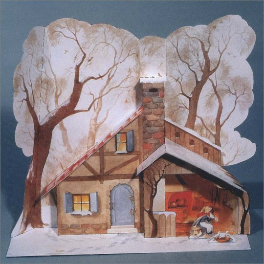 Cinderella's Cottage Paper House Project Kit ~ Germany