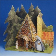 Hansel and Gretel Paper House Project Kit ~ Germany