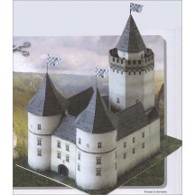 Blankenstein Castle Paper Project Kit ~ Germany
