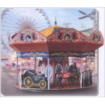 Beautiful Paper Carousel Project Kit ~ Germany