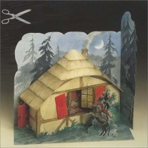 Bremer Town Musicians Paper House Project Kit ~ Germany