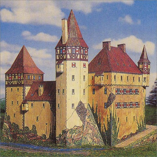 Barenfels Castle Paper Project Kit ~ Germany
