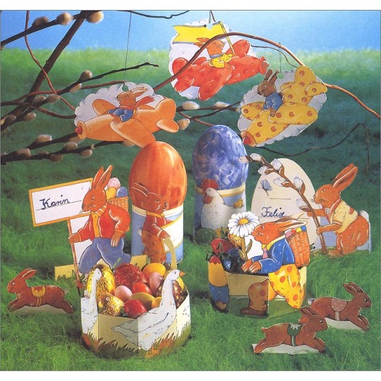 Paper Easter Decorations Project Kit ~ Germany