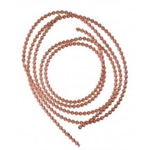 Authentic German Bouillion Crinkle Wire ~ 3 mm Copper
