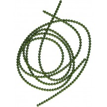 Authentic German Bouillion Crinkle Wire ~ 3 mm Moss Green