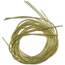 Fine Authentic German Bouillion Crinkle Wire ~ 1.5 mm Gold