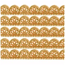 "Antique Gold Dresden Scalloped Trim ~ 1/2"" wide"