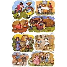 Traditional Nursery Rhyme Scraps ~ England