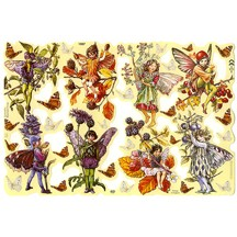 Autumn Flower Fairies Scraps ~ England ~ Out of Print