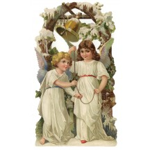 Large Angels and Bell Scrap ~ Germany ~ New for 2012