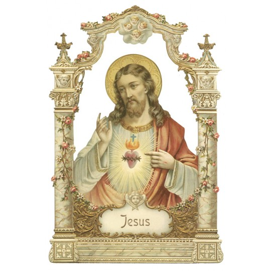 Beautiful Jesus Large Scrap ~ Germany ~ New for 2012