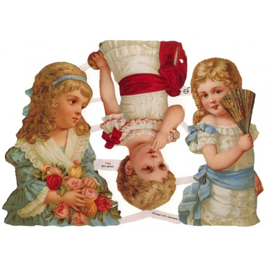 Large Victorian Children Scraps ~ Germany
