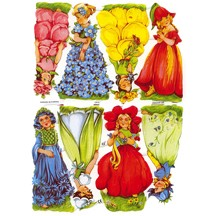 Pretty Flower Girl Scraps ~ Germany