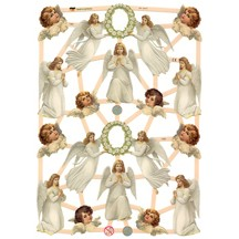 Beautiful Devoted Angels Scraps ~ Germany ~ New for 2012