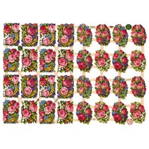 Good Luck Rose Bouque Scraps ~ Germany ~ New for 2012