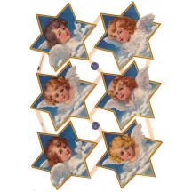 Angels on Clouds Star Scraps ~ Germany ~ New for 2014