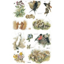 Marjolein Bastin Bird and Animal Scraps ~ England