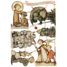 Charming Hummel Children Die-Cut Scraps ~ Germany
