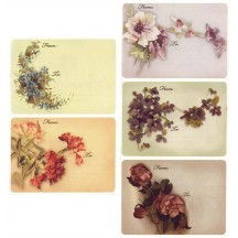 8 Assorted Floral To and From Stickers