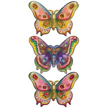 1 Sheet of Stickers Extra Large Butterflies