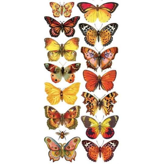 Stickers Featuring Butterflies