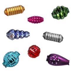 Fancy + Fantasy Shape Blown Glass Beads