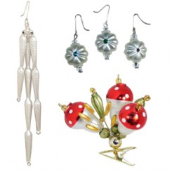 Beaded Ornaments and Mini Ornaments