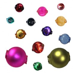 Classic Smooth Round Blown Glass Beads