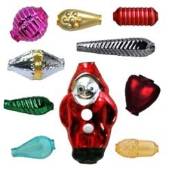 Czech Blown Glass Garland Beads