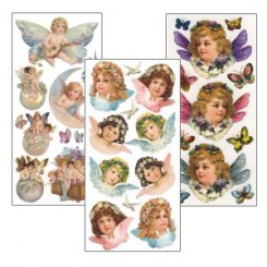 Stickers Featuring Angels and Children