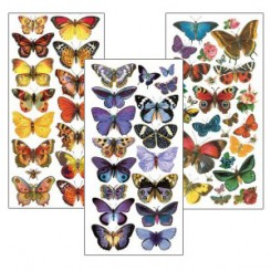 Stickers Featuring Butterflies