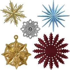 Large Halos + Snowflakes + Medallions
