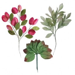 Millinery Leaves