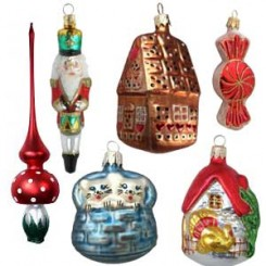 Heirloom Ornaments from the Czech Republic