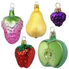 Fruit & Vegetable Ornaments