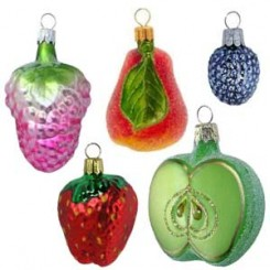 Fruit & Vegetable Ornaments