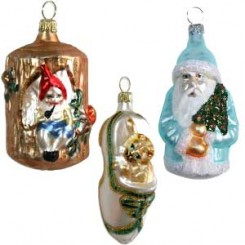 heirloom ornaments from germany - Blown Glass Christmas Ornaments