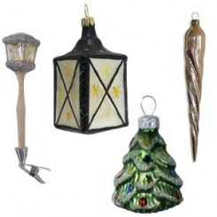 Clocks, Lanterns, Candles, Icicles + More