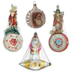 Victorian-Style Christmas Ornaments from Germany