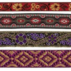 Metallic Jacquards, Elaborate Costume Trims & Woven Ribbons