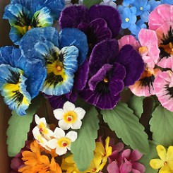 Easter and  Springtime Millinery Flowers