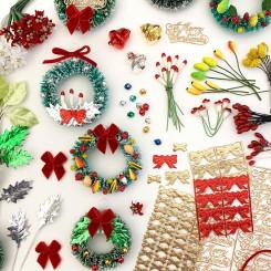 Retro Dime Store Mini Wreaths