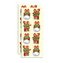 2 Sheets Holly Children Christmas Stickers