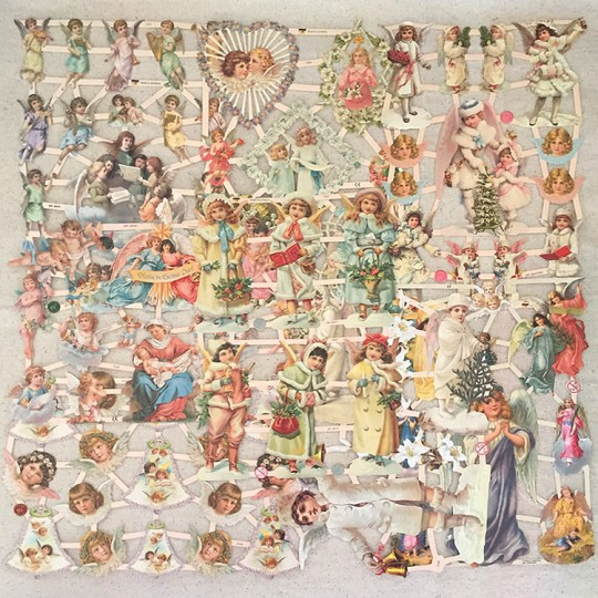 Angels Master Scrap Pack ~ 8 Assorted Sheets