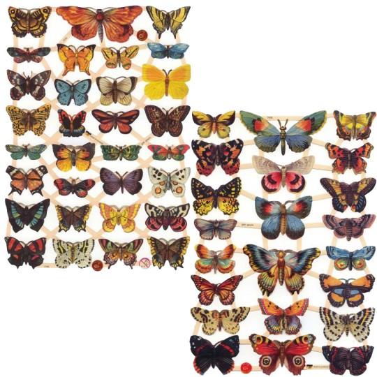 Butterflies Master Scrap Pack ~ 6 Assorted Sheets